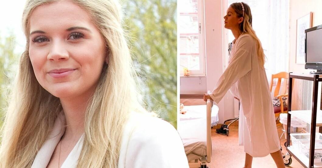 Linn Anderssons svåra förlossning