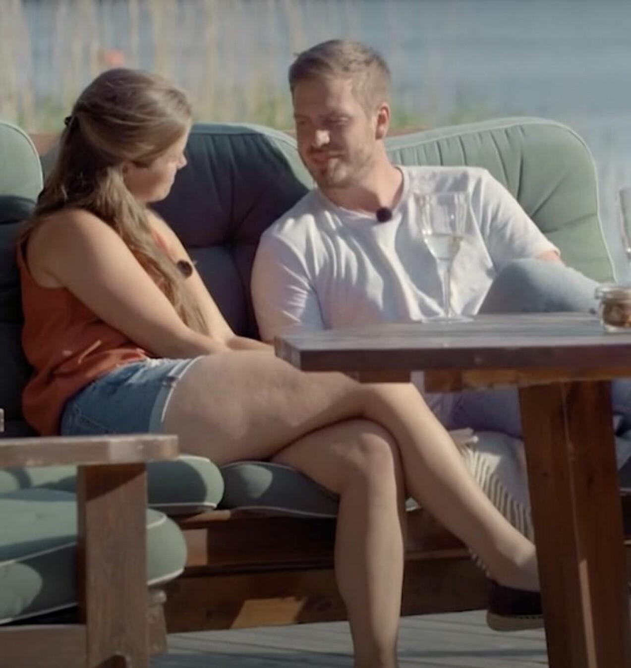 Linn och Victor i Bonde söker fru Kärlek åt alla
