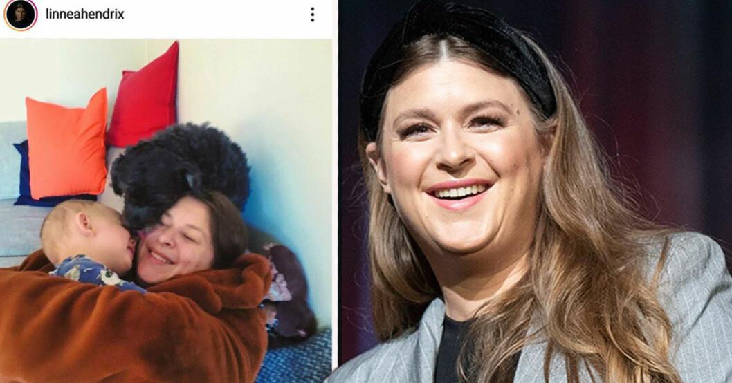 Linnea Henrikssons familjelycka –efter Melodifestivalen-succén