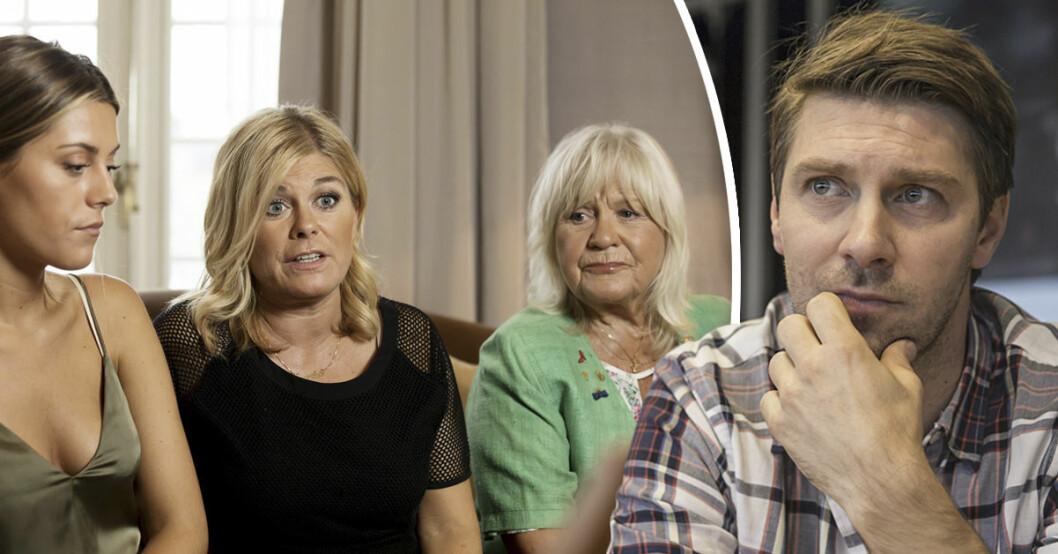 Linus Wahlgren vill inte vara med i Wahlgrens värld