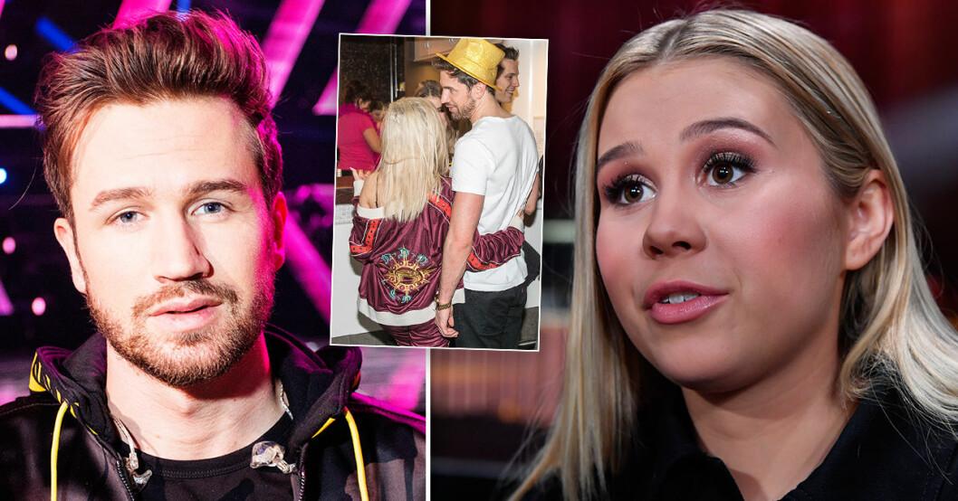 Christopher Martland och Lisa Ajax i Melodifestivalen