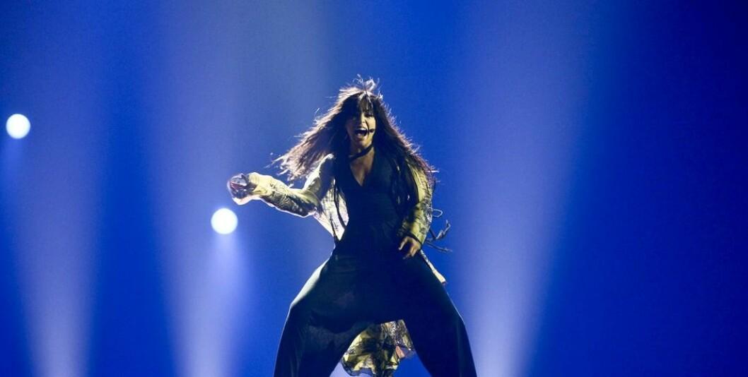 Loreen i Eurovision Song Contest med låten Euphoria.