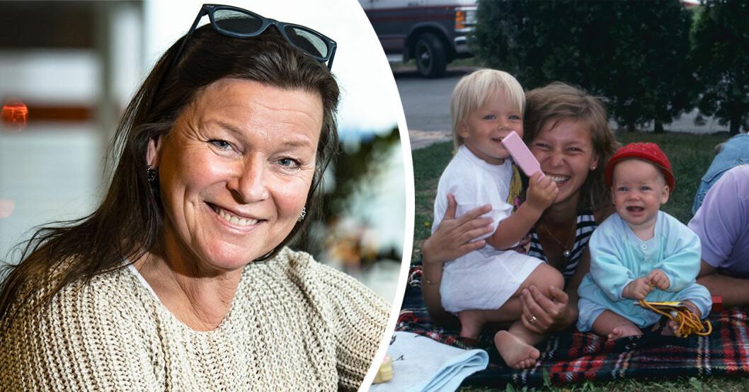 Lotta Engbergs barn har vuxit upp – så ser döttrarna ut idag