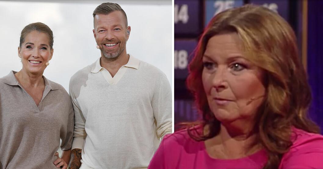 Agneta Sjödin och Casper Janebrink