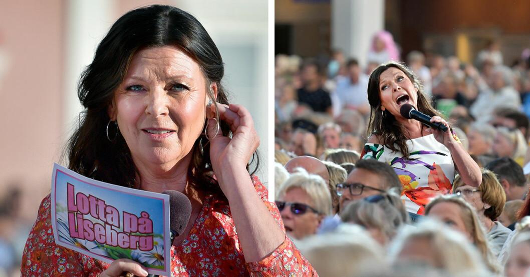 Lotta Engbergs oro över framtiden på Liseberg – efter inhoppet i Bingolotto