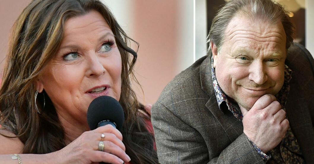 Lotta Engberg och Claes Malmberg