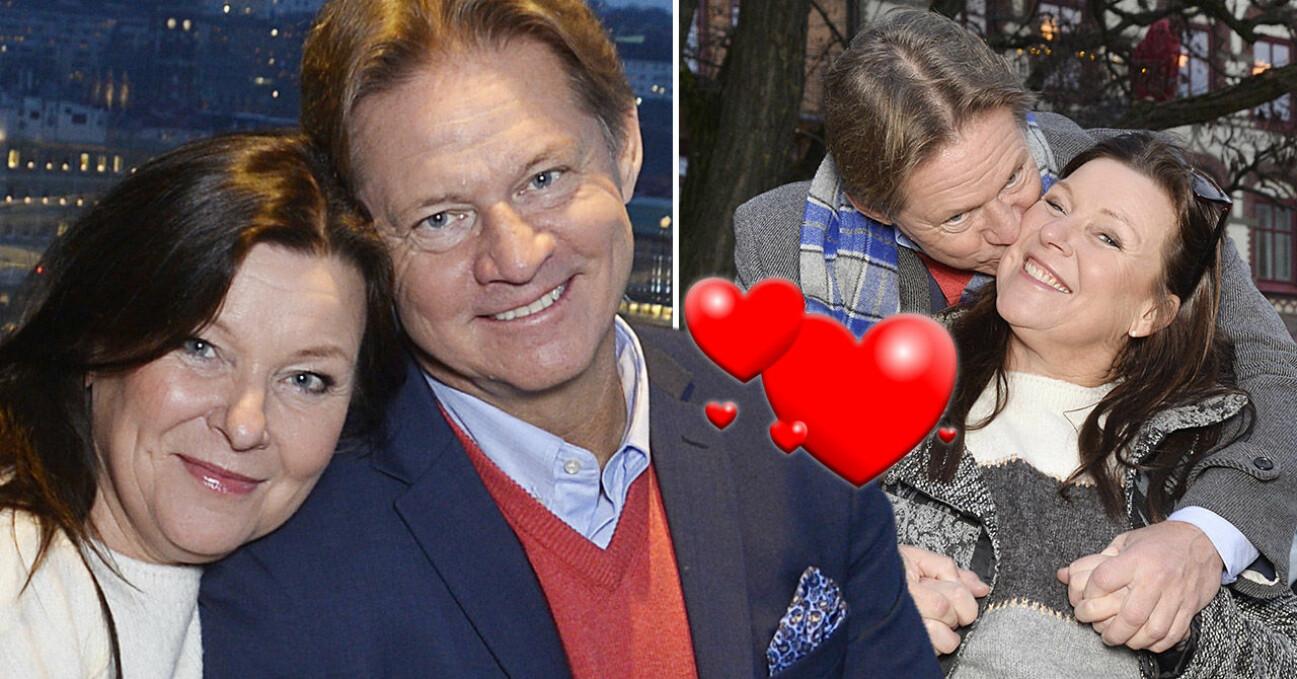 Lotta Engberg och Mikael Sandström.