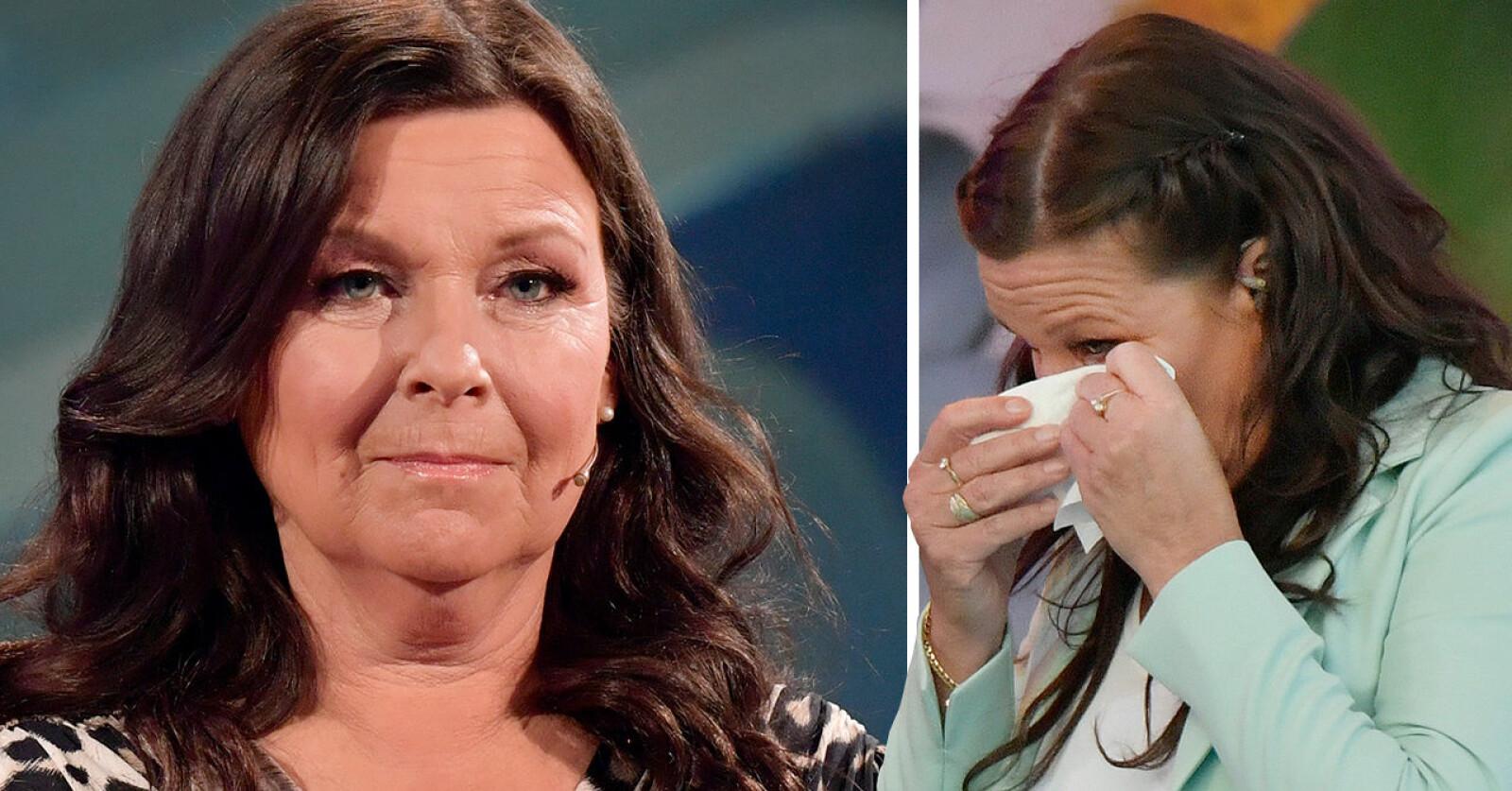 Lotta Engberg om tårarna efter skilsmässan.