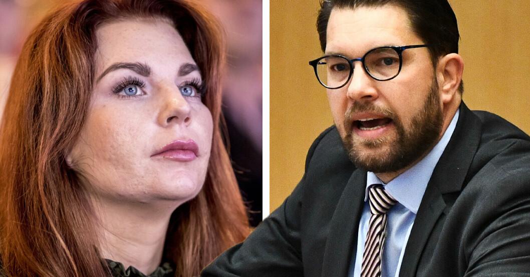 Louise Erixon och Jimmie Åkesson