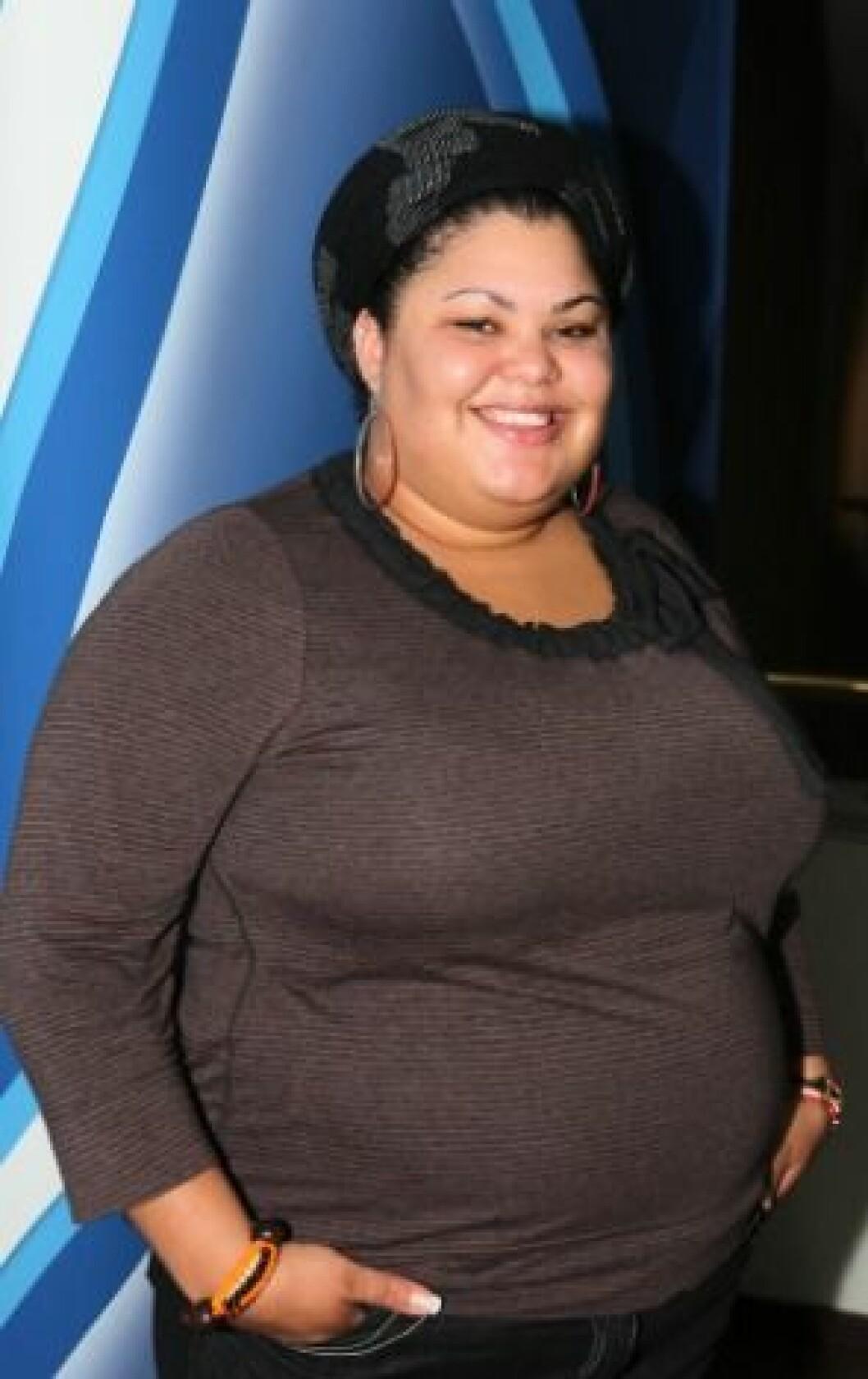 Loulou Lamotte i Idol 2008.