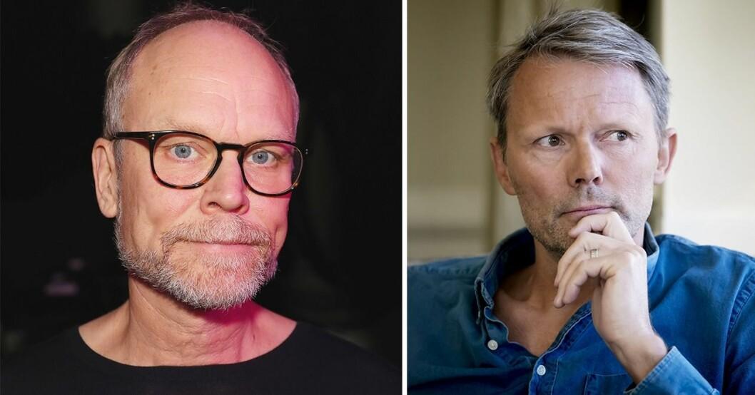 Kristian Luuk och Felix Herngren