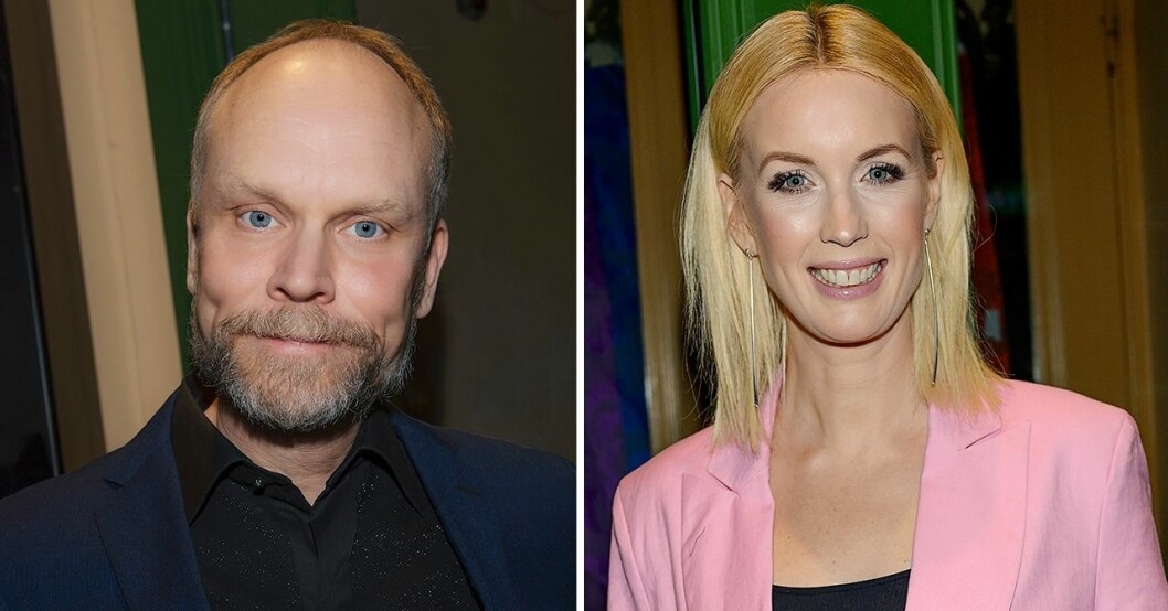 Kristian Luuk och Jenny Strömstedt