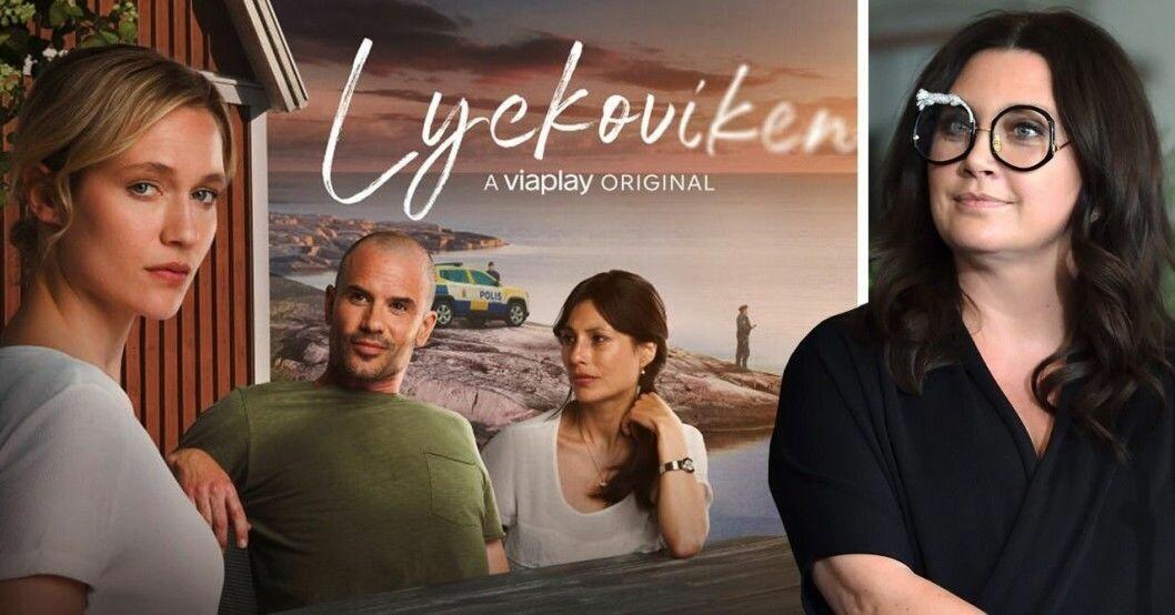 Lyckoviken, skådespelare och Camilla Läckberg