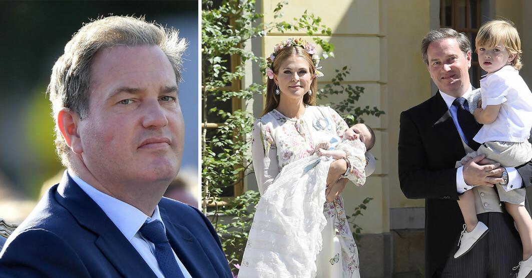 Chris O´Neill och prinsessan Madeleine
