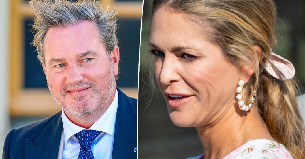 Prinsessan Madeleine och Chris O'Neill.
