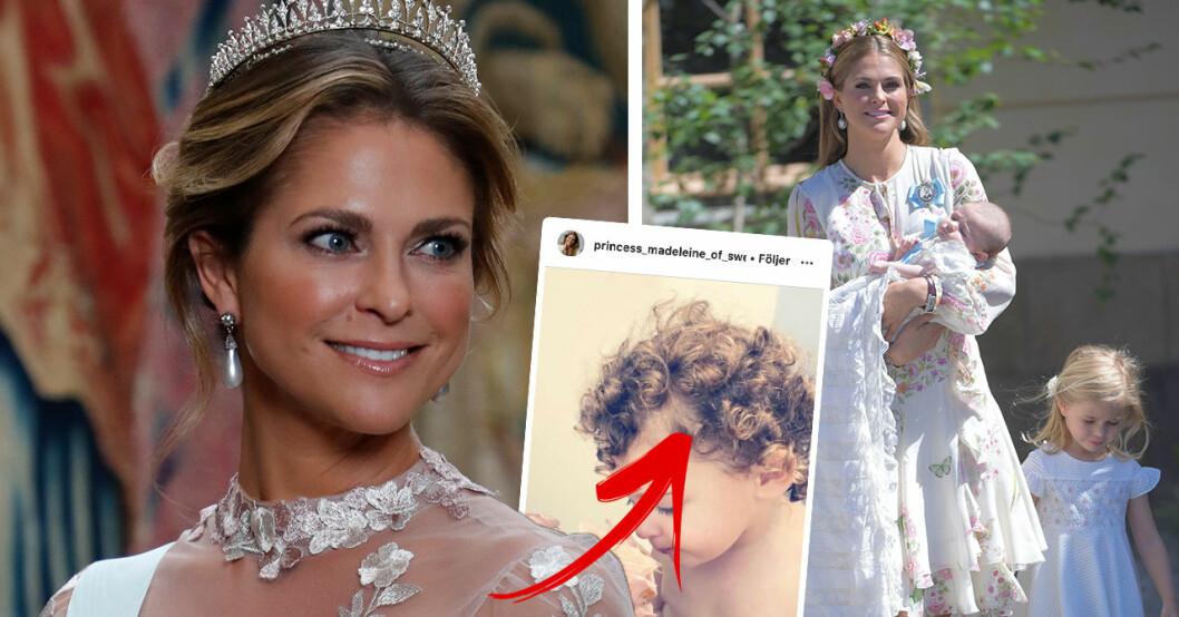 Folket häpnar efter upptäckten – detaljen i prinsessan Madeleines nya bild på dottern Adrienne
