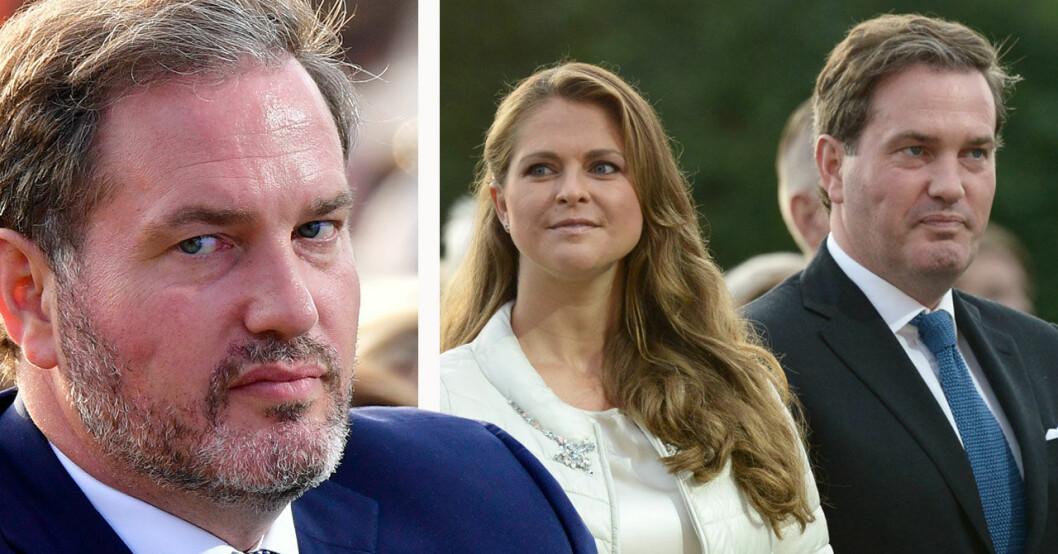 Prinsessan Madeleine och Chris O´Neill sommaren 2019