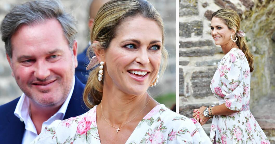 Chris O'Neill och prinsessan Madeleine sommaren 2021 på Öland