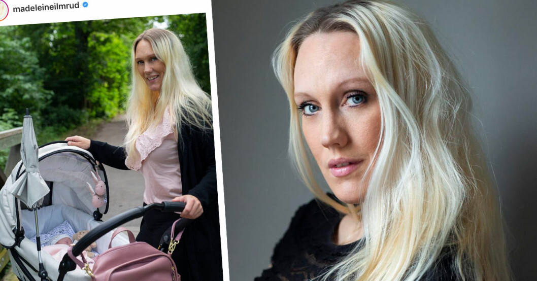 Madeleine Ilmrud om namntvivlet till nyfödda dottern