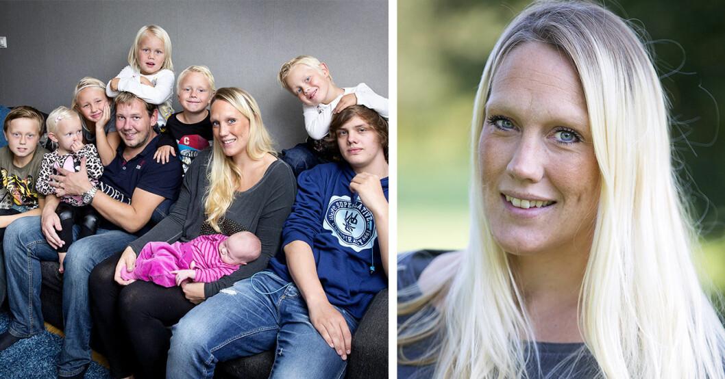 Madeleine Ilmrud från Familjen annorlunda – oro för fyraåriga dottern