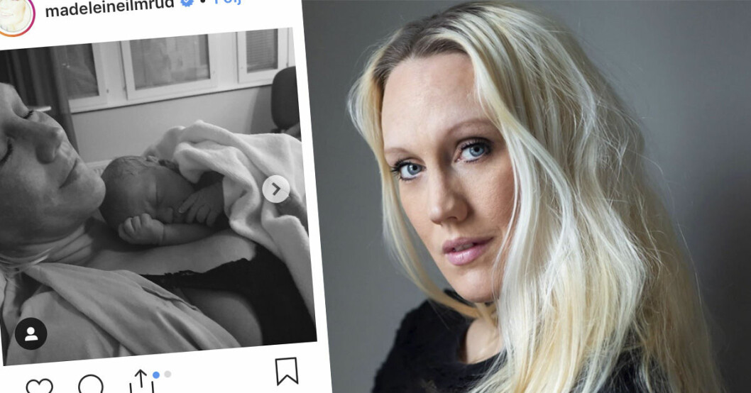 Madeleine Ilmrud om smärtorna efter dotterns födsel