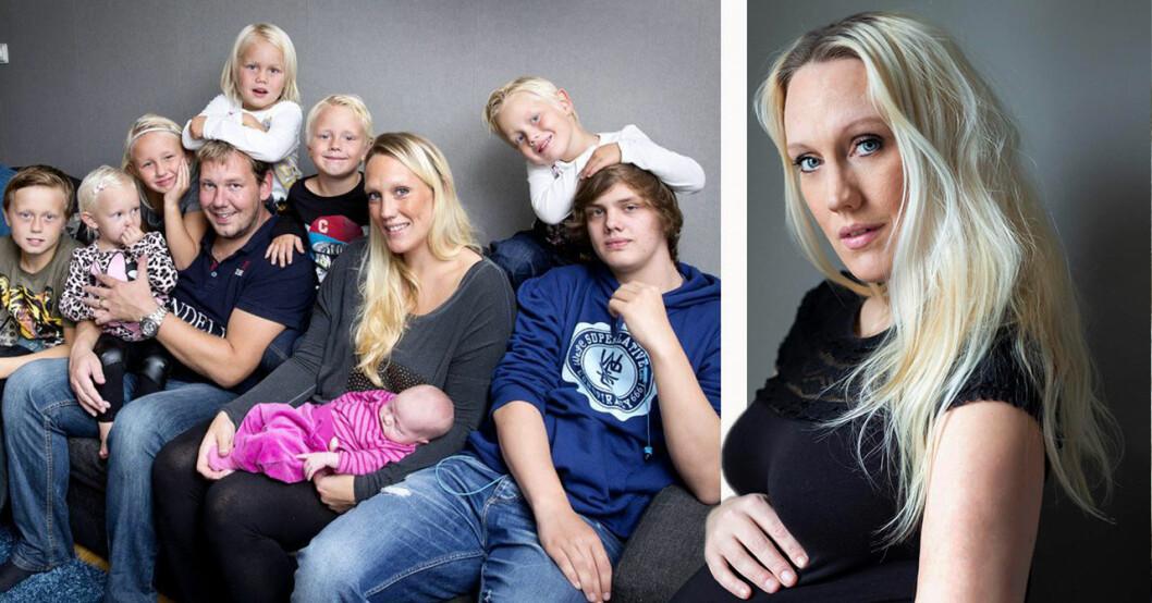 Gravida 10-barnsmamman Madeleine Ilmrud om namnvalet till elfte barnet