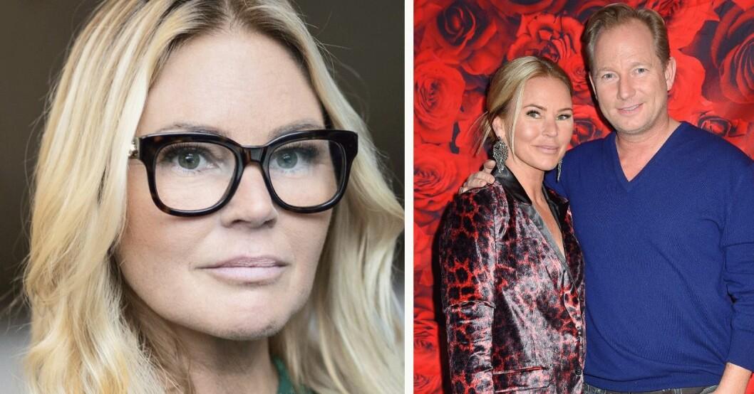Magdalena Graaf och maken filip Larsson