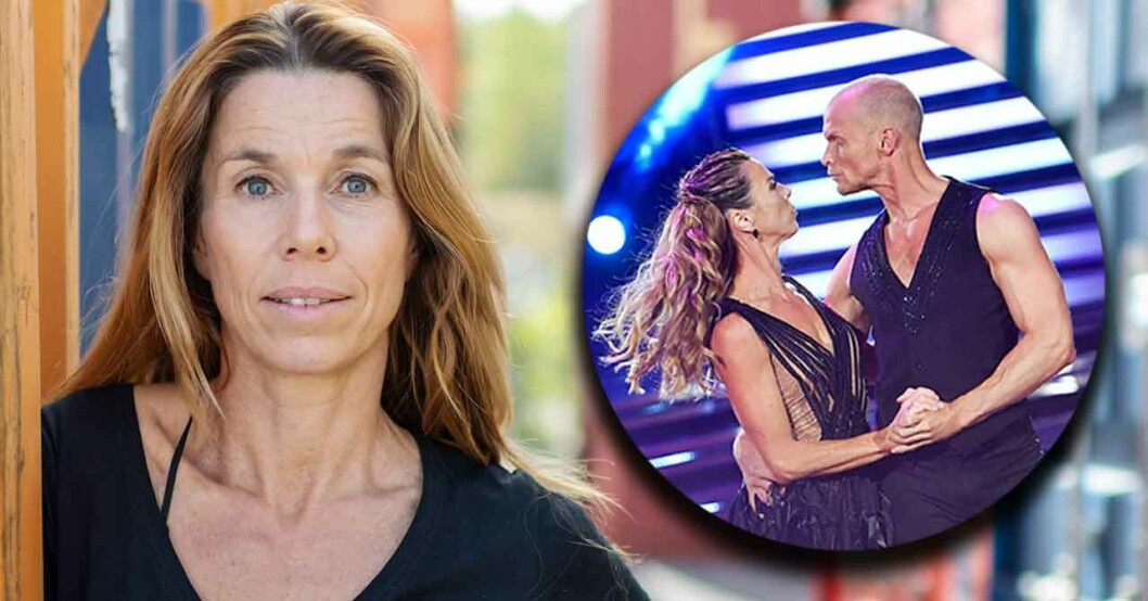 Magdalena Forsberg drabbad av tumör Hon dansade med Tobias Karlsson i Lets Dance 2019.