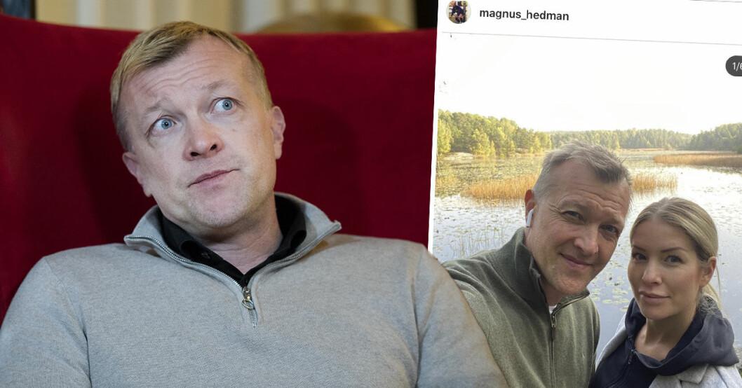Magnus Hedman och Karin Ahl