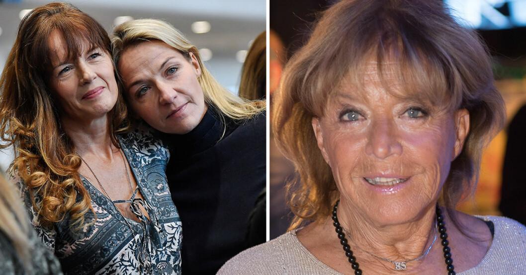 Malin Berghagen, Kristin Kaspersen och Lill-Babs Svensson