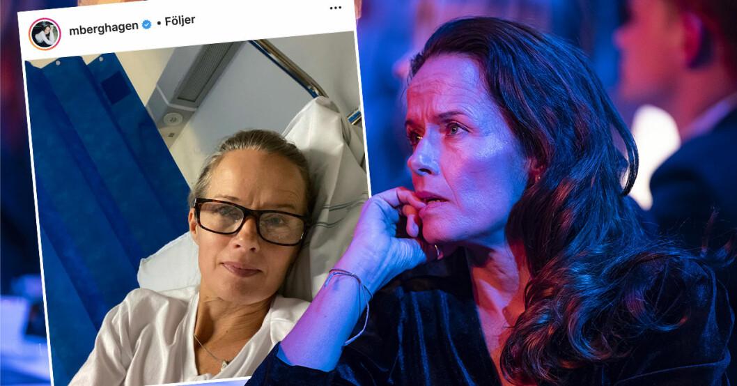 Malin Berghagen tvingades till operation.