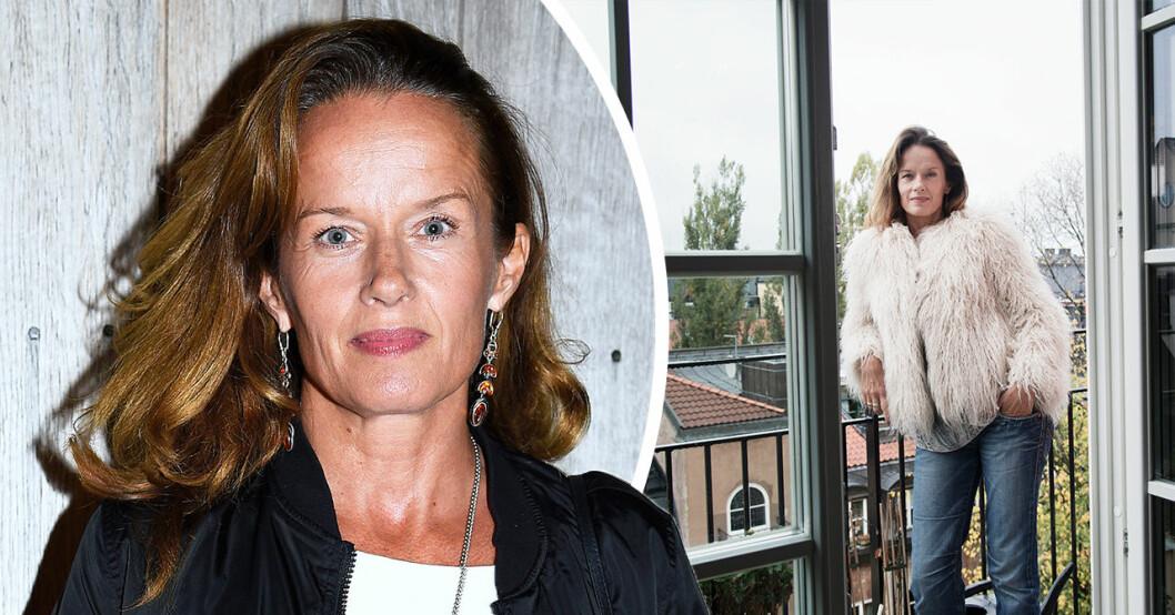 Malin Berghagen om sorgen efter flytten – lämnar lägenheten