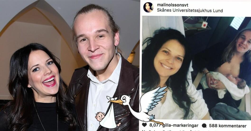 Svt Profilen Malins Olssons Bebislycka Antligen Har Hant