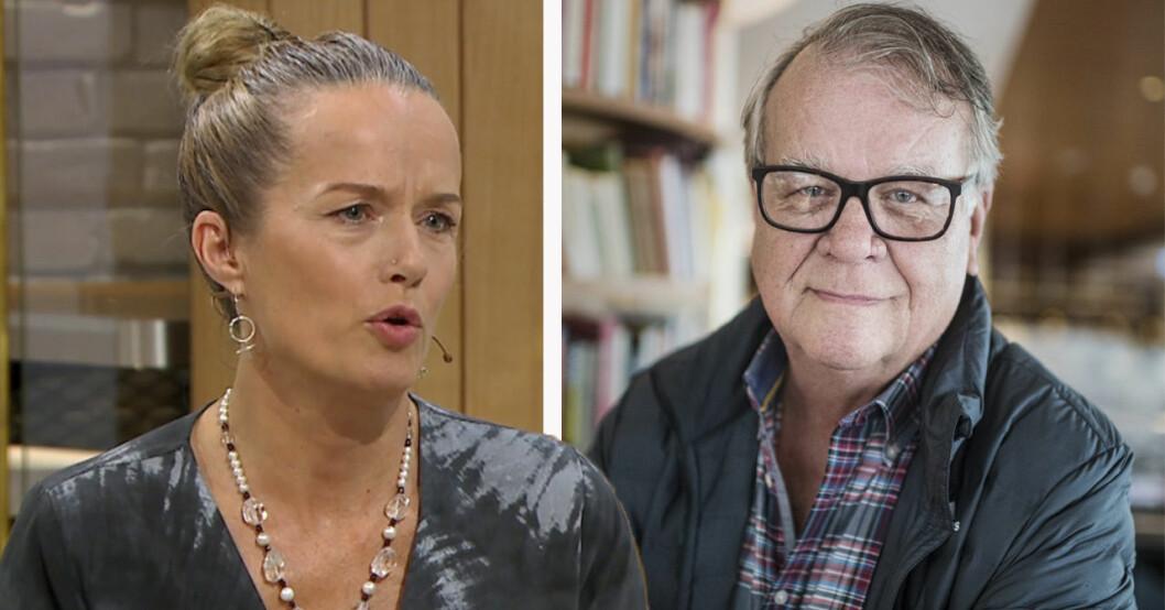 Malin Berghagen om relationen med pappan Lasse Berghagen