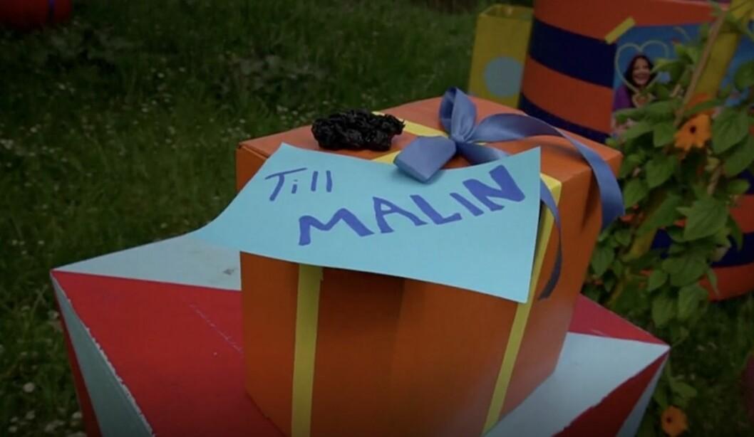 Malin present