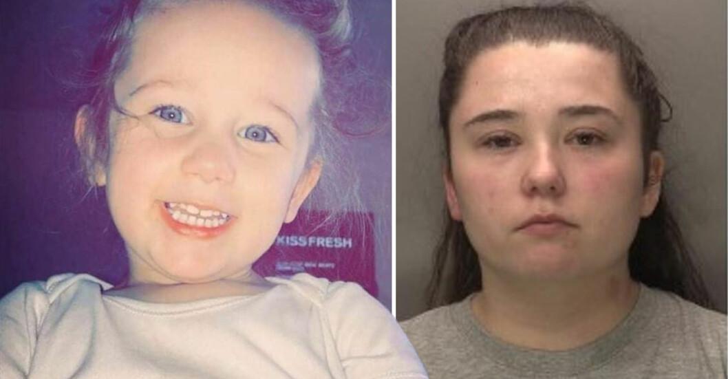 Kaylee, 3, blev misshandlad till döds. Nu har hennes mamma Nicola Priest dömts till fängelse.