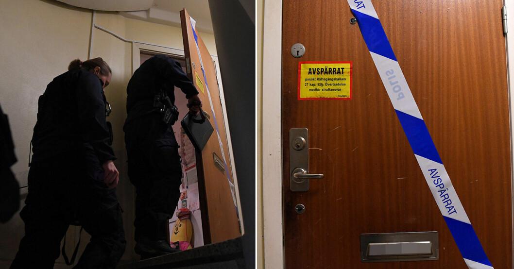 En mamma i Haninge höll sin son inlåst i 28 år.
