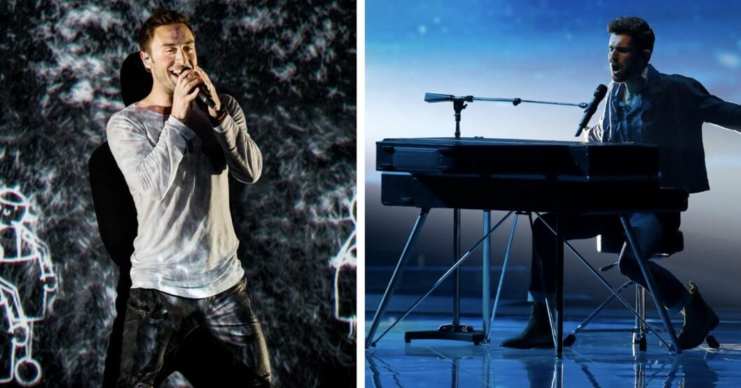 Måns Zelmerlöw och Nederländernas bidrag i Eurovision Song Contest