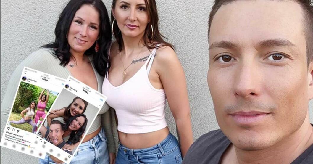 Marco, Jessica och Kamila