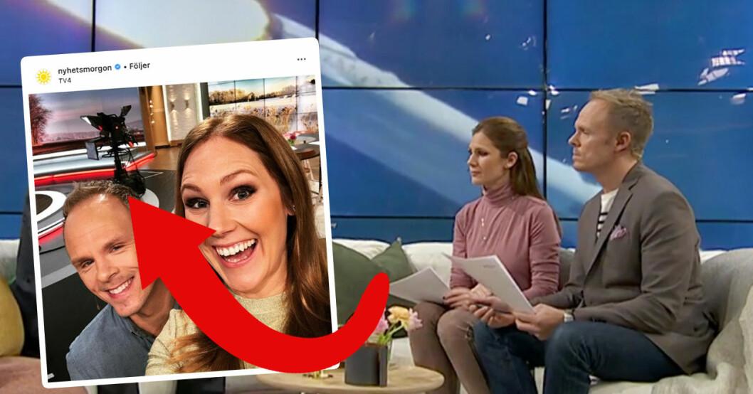 TV4-tittarna jublar över den nya programledarduon i Nyhetsmorgon