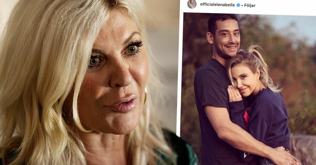 Maria Montazamis stöd till Elena Belle efter makens död