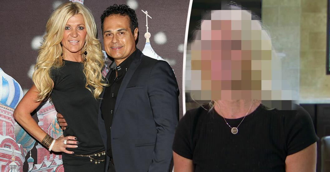 Maria Montazami visar upp nya, korta frisyren i Svenska Hollywoodfruar.