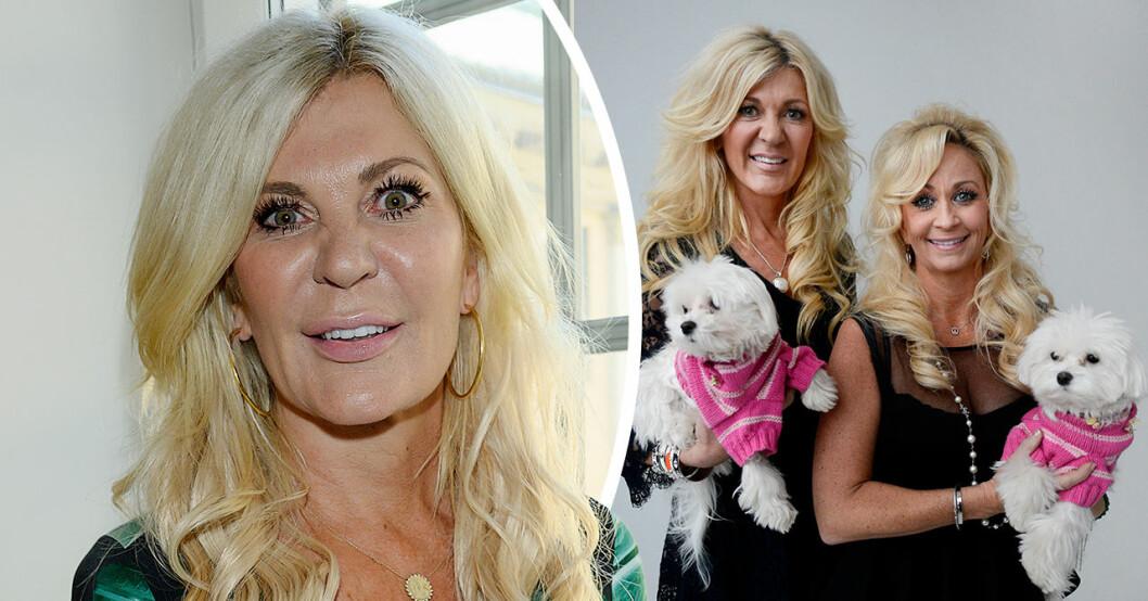 Maria Montazamis oro inför återföreningen i Svenska Hollywoodfruar