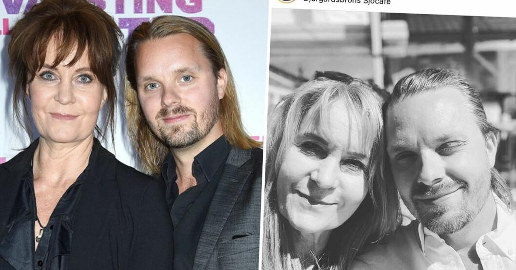 Maria Lundqvist och Kristoffer Hellström.