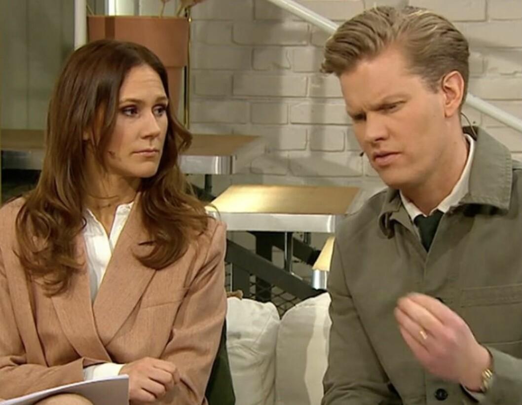 Maria Forsblom och Martin Järborg