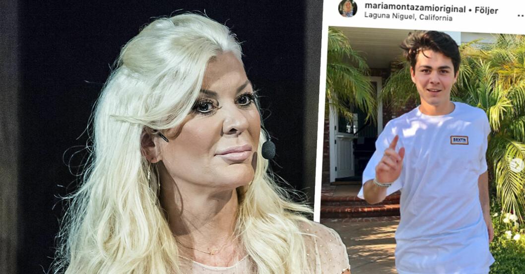 Maria Montazamis oro efter om plötsliga upptäckten med sonen nicholas