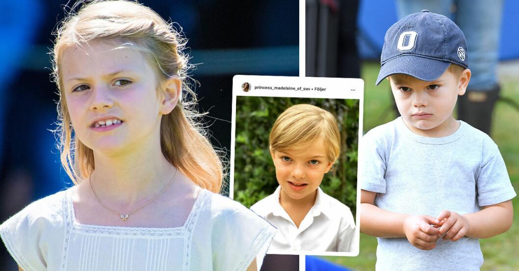 Hovets markering mot 5-årige prins Nicolas – skillnaden mot Estelle och Oscar