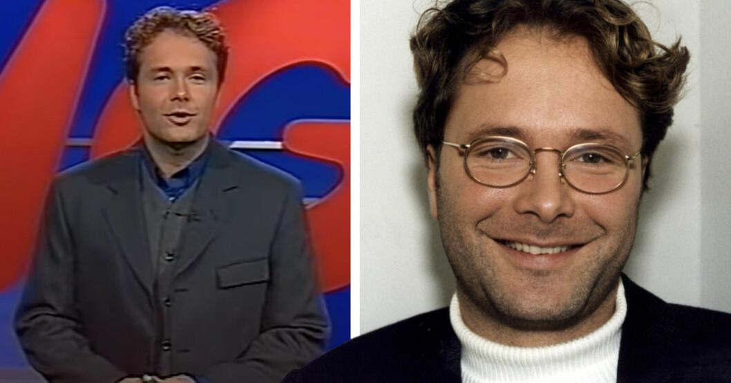Martin Örnroth var programledare för Lingo