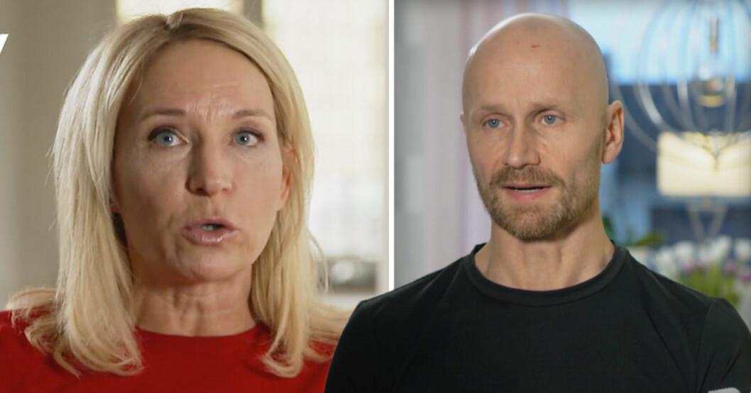 Martina Haag och Tony