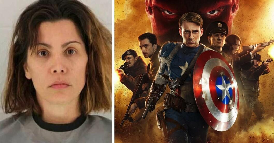Marvel-stjärnan Mollie Fitzgerald, Captain America